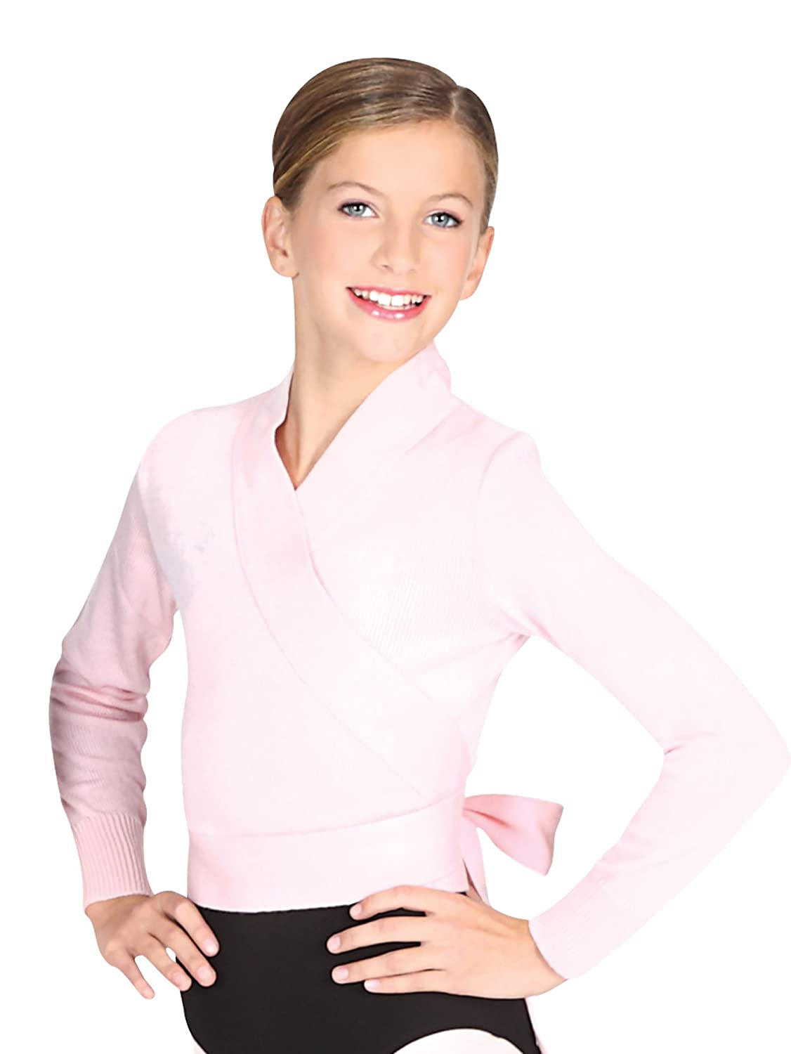 Child Classic Wrap Sweater 72523c