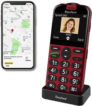 Easyfone Prime A4 Senior SIM teléfono móvil libre: Amazon.es: Electrónica
