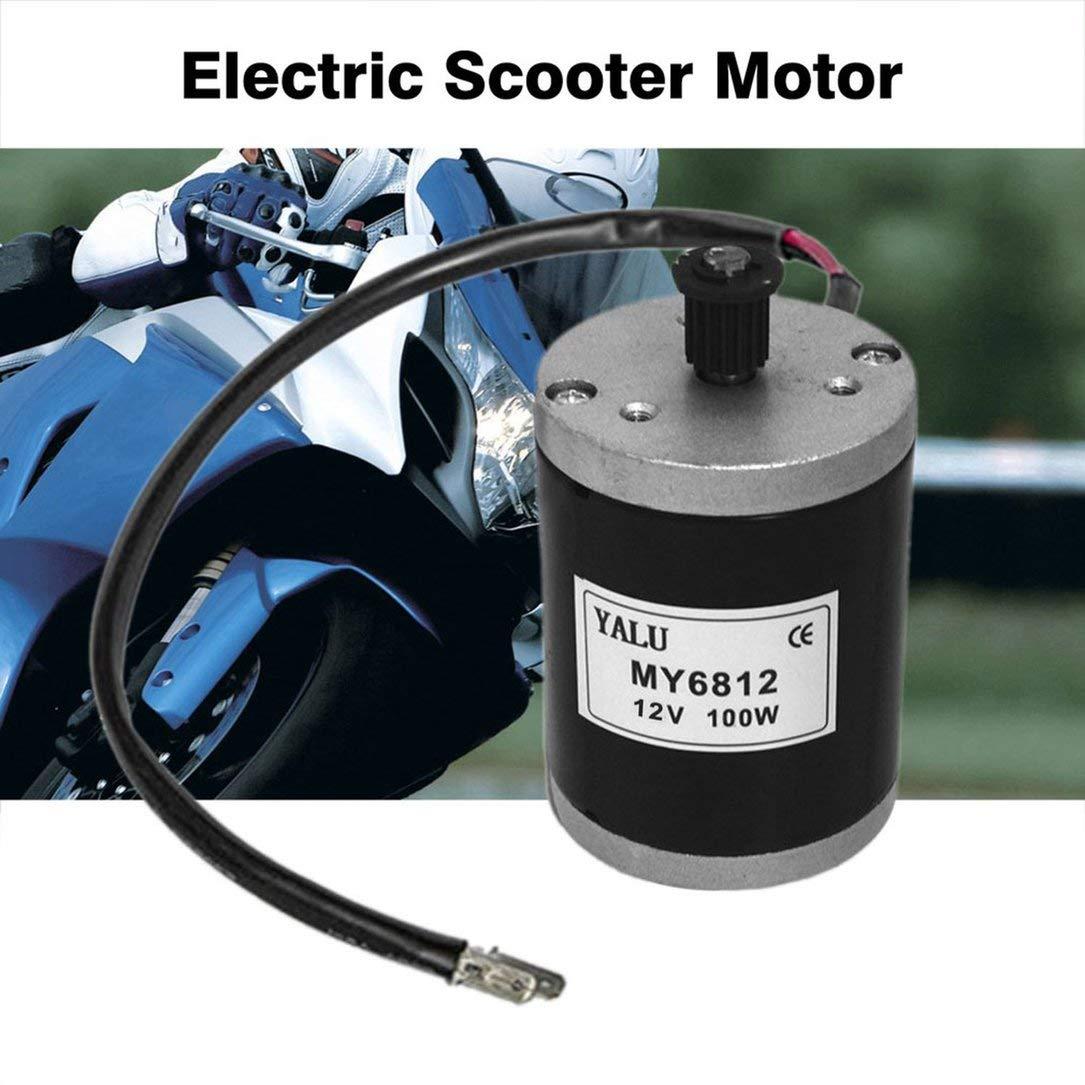 sdfghzsedfgsdfg Scooter eléctrico Motor 12V 100W Pequeño ...