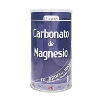 Amazon.com: Drasanvi Carbonate Magnesium 200Gr - Food Supplement - Natural Dietetics - Antioxidant - Againts Fatigue And Tiredness - Energy Metabolims And ...