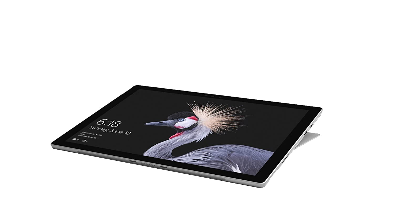 Microsoft Surface Pro 31,24 cm (12,3 Zoll) 2-in-1 Tablet (Intel Core i7, 8 GB RAM, 256 GB SSD, Windows 10 Pro) Silber