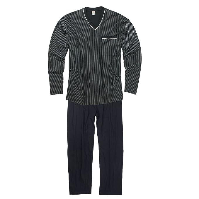 Adamo Fashion XXL Pijama en azul oscuro, 2xl-10xl:10xl