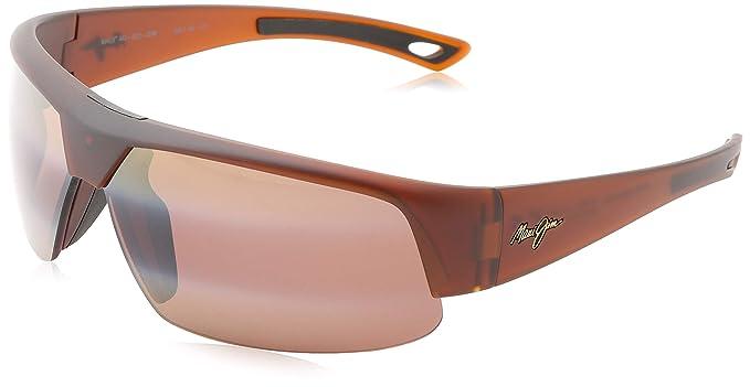 Gafas de sol Maui Jim 523-02MR Negro Wrap: Maui Jim: Amazon ...