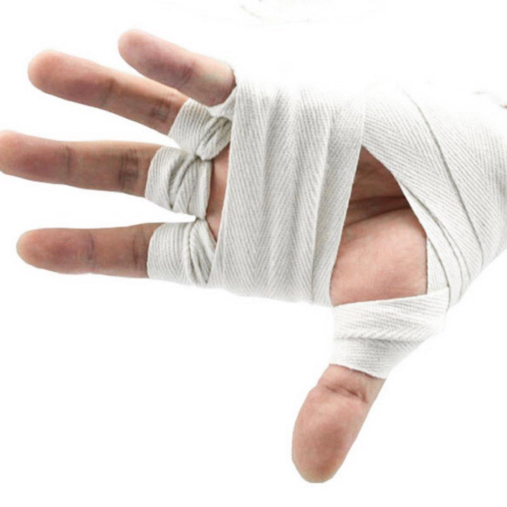 Sukisuki 1/paire de boxe Bandage de boxe Poin/çonnage Main Wrap exercice Gants dentra/înement 2.5/m
