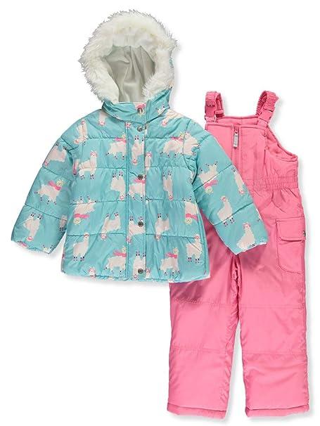 Amazon.com: Carters - Traje de esquí para niña (2 piezas ...