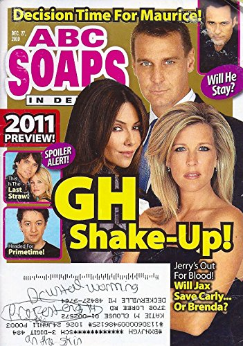 ABC Soaps In Depth Magazine - December 27, 2010 - Vanessa Marcil, Laura Wright & Ingo Rademacher (General Hospital)