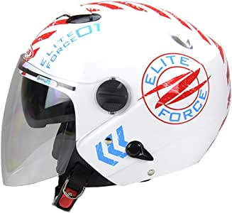 MTTKTTBD Casco Moto Abierto,ECE Homologado,Adultos 3/4 Casco Moto ...