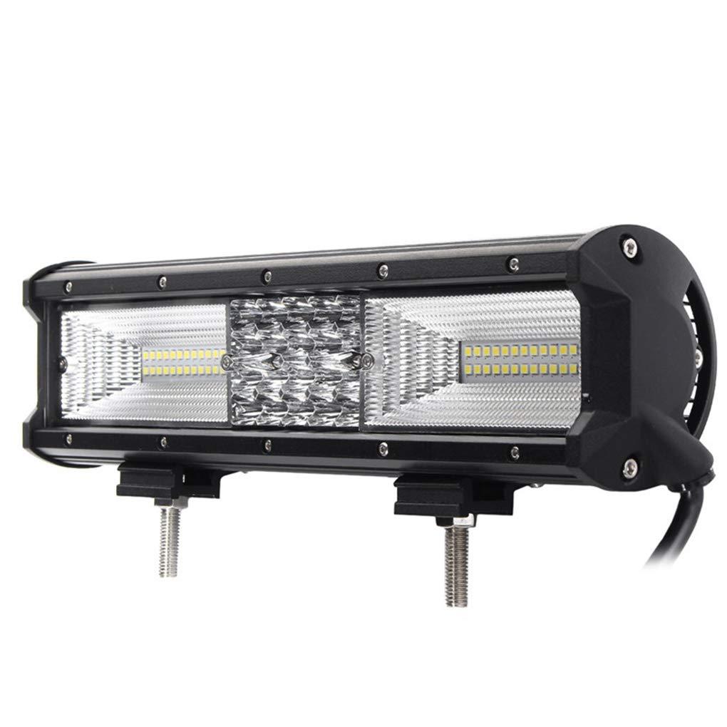 Morza Luce del Lavoro Quad Row 12inch 840W 68LED Bar di inondazione del Punto Combo Guida Le lampade Impermeabili del Lavoro del LED Luce 6000K per SUV Offroad Vehicle