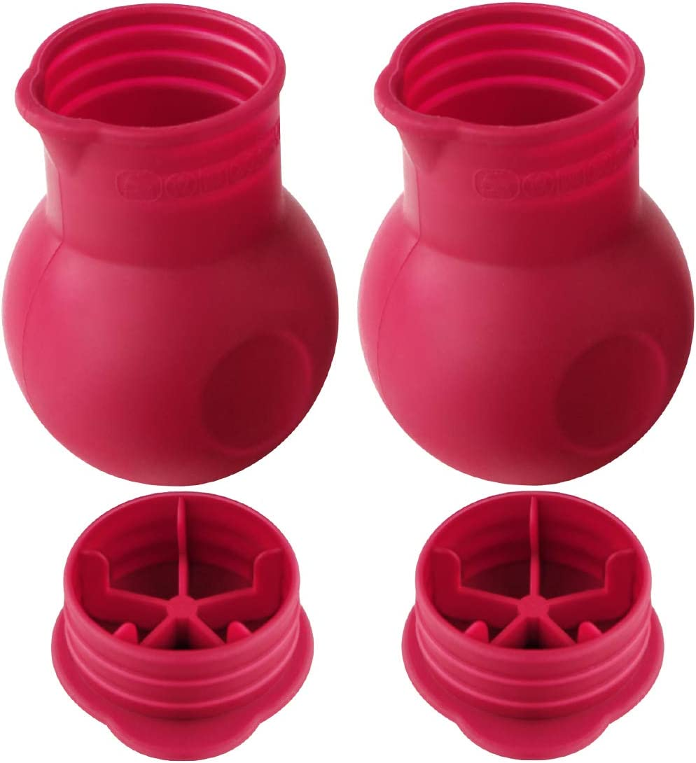 Cabilock 3 Pcs Silicone Chocolate Melting Pot DIY Silicone Butter Sauce Porable Milk Microwave Baking Pouring Tool for Chocolate Butter Cheese Caramel