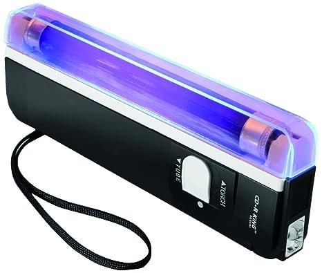 Cathedral - Detector de billetes falsos, de mano, con linterna, ultravioleta