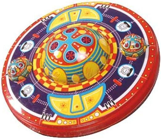CAPRILO Juguete Decorativo de Hojalata OVNI Mars Naves Espaciales. Juguetes y Juegos de Colección. Regalos Originales. Decoración Clásica.: Amazon.es: Hogar