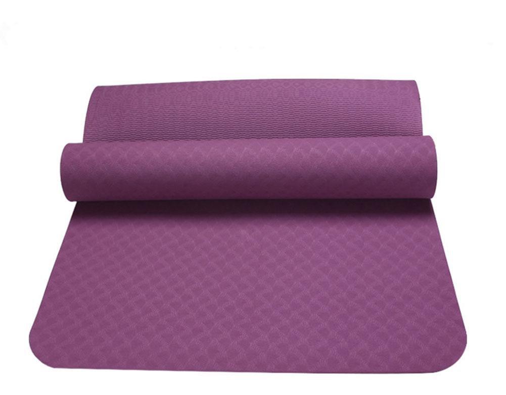 HZJ MäNner Und Frauen Starter Yoga Mat-Haltbare 183  61 cm Eco Einer Bequemen GrößE Yoga Und Pilates Matte Sport, Eignung Rutschfeste Schutzpolster