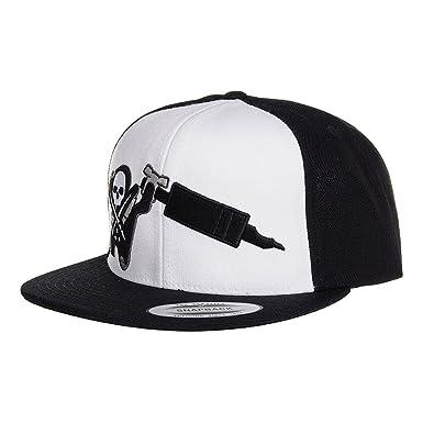 Sullen Session Snapback Baseball Cap Headwear Black White Tattoo ...