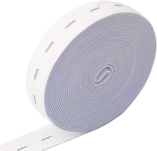 Bandas elásticas de punto elástico con múltiples ojales Cinturón ...
