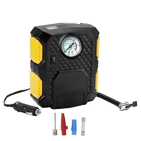 Inflador de neumáticos de rendimiento rápido, portátil, eléctrico, compresor de aire, para