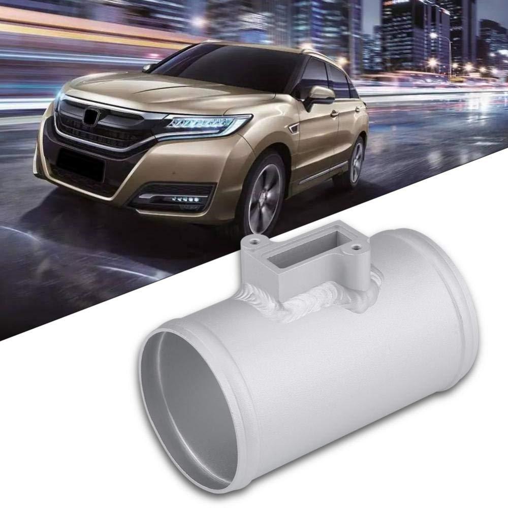 63MM Terisass Car Air Flow Meter Base Aluminum Alloy Mass Air Intake Meter Mount for Nissan Honda Ford 63mm 70mm 76mm