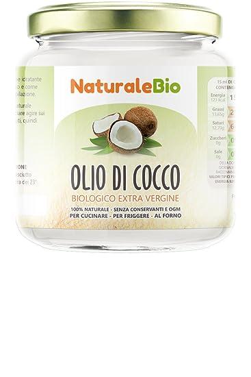 Aceite de coco extra virgen 200 ml - Crudo y prensado en frío - Puro y