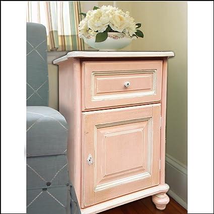 Mobile, credenza,stile shabby chic, colore rosa, stile provenzale ...