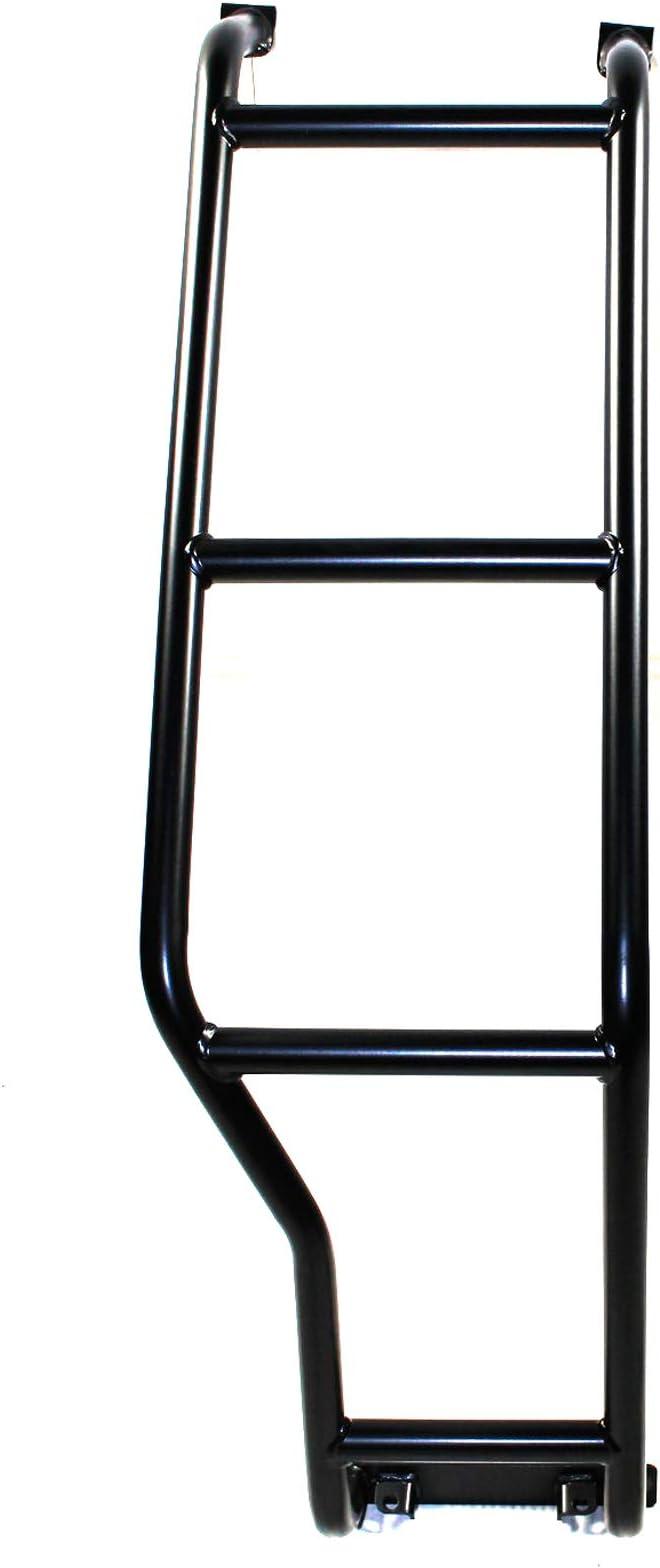 Escalera Redondeada Niva Taiga 4 x 4 Negro portón Trasero (Derecha): Amazon.es: Coche y moto