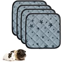 Guinea Pig Cage Liners, Highly Absorbent Washable Reusable Guinea Pig Fleece Bedding for Midwest and C&C Cages with…