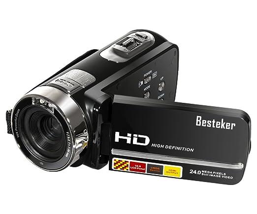 15 opinioni per Besteker Protable FHD1080p Max 24.0 Megapixel 16X zoom digitale video a