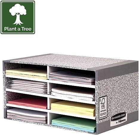 Fellowes R-Kive - Organizador de escritorio (cartón100% reciclado ...