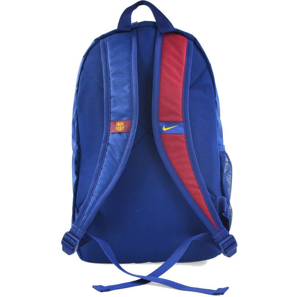 857637f6bee5 Amazon.com: Nike Backpack Stadium FC Barcelona Junior (Blue, One ...