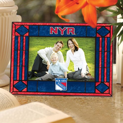Nhl Frame Horizontal Picture (Memory Company New York Rangers Horizontal Art Glass Frame)