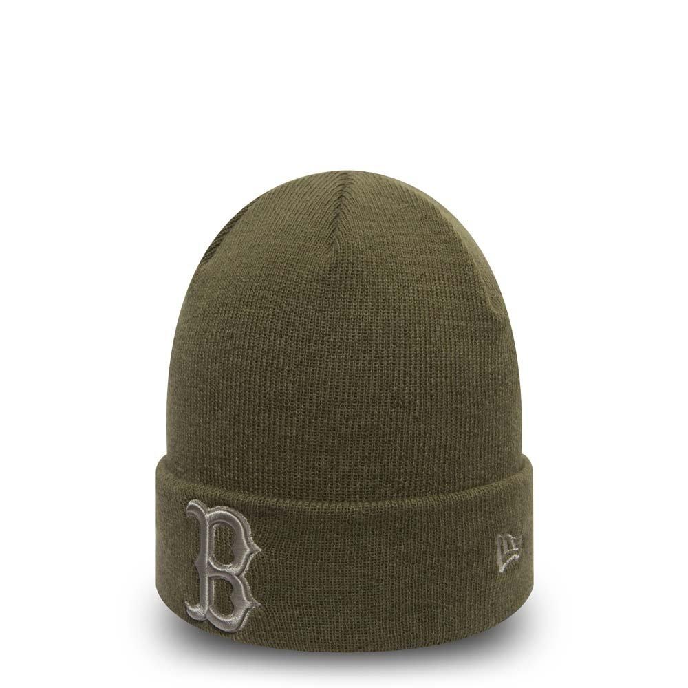 New Era Boston Red Sox cappellino–League Essential Cuff–oliva kaki taglia unica 11493396