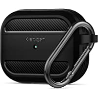 Spigen Apple AirPods Pro Kılıf Rugged Armor / Matte Black - ASD00540