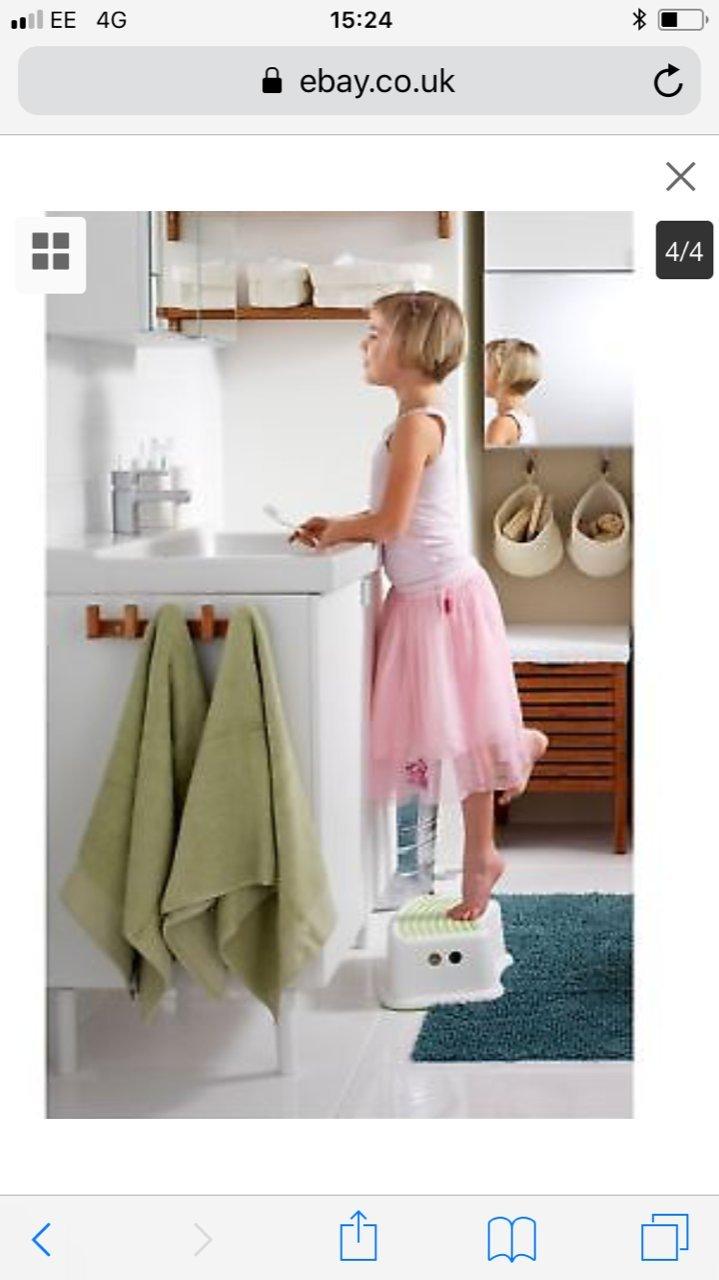 1 x Ikea - niño formación asiento para inodoro con 1 pie ...