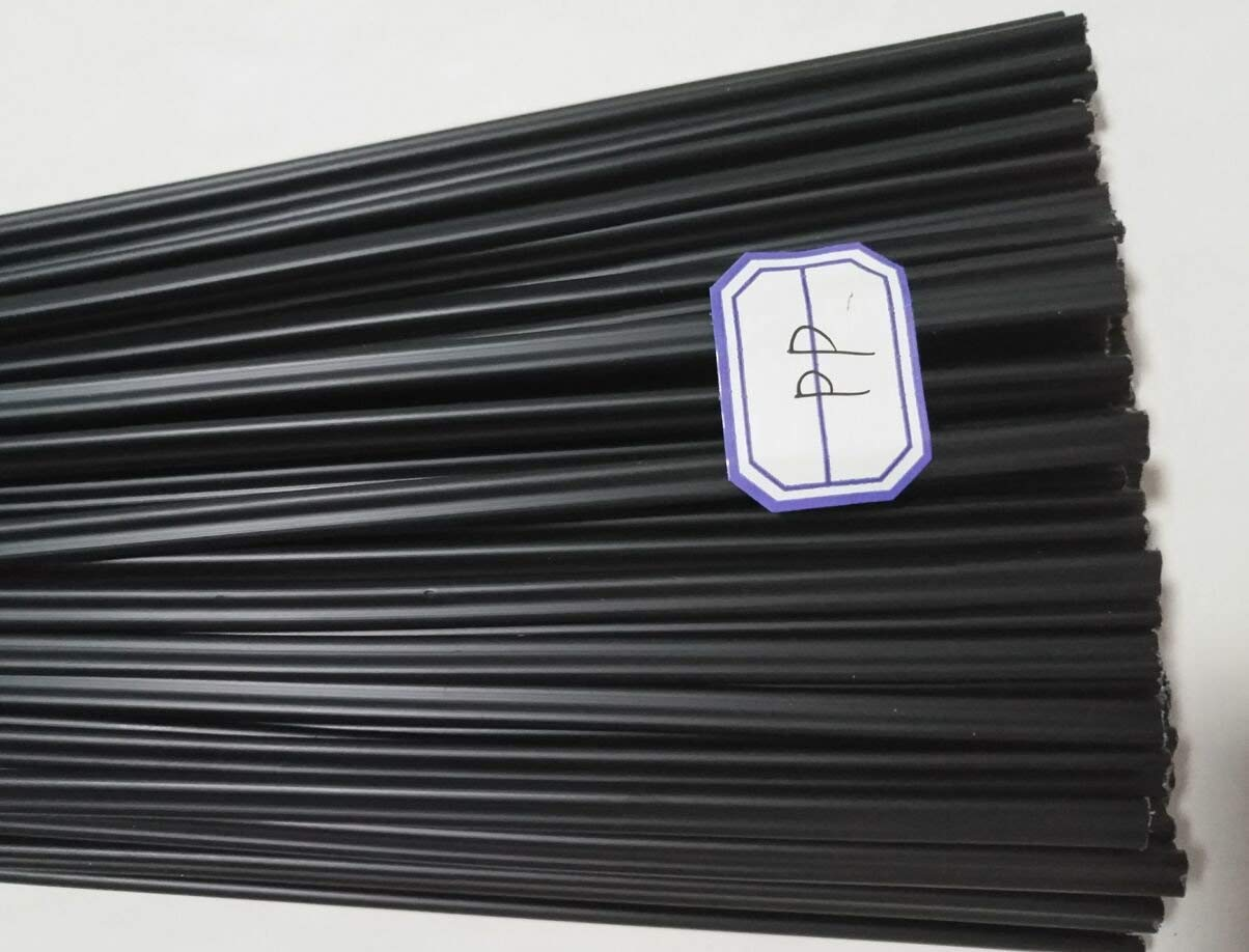 20PCS Black PP Plastic Welding Rods for Plastic Welding Gun/Hot Air Gun/Welding Tool 1PC=19.5 Inch SUYWT
