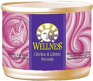 WELLNESS Chicken/Lobster Wet Cat Food, 3 OZ
