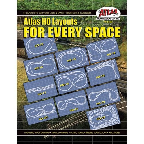 HO Layouts For Every Space Atlas Track Layout