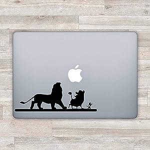Disney MacBook Decal Disney MacBook Sticker Lion King Laptop Decal Simba Laptop Sticker -1