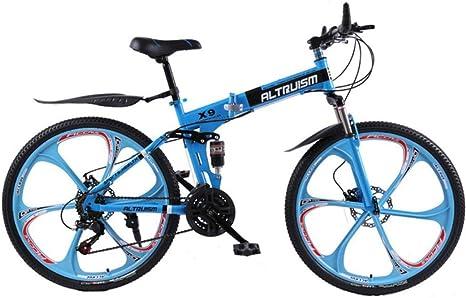 MZLJL Bicicletas de montaña, Bicicletas Plegables para X9 21 de ...