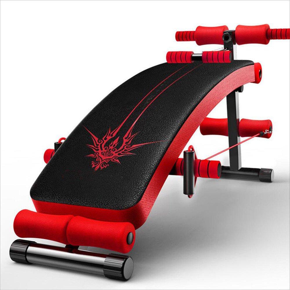 シットアップ 多機能家庭用仰臥位ボード腹部腹部プレート 腹肌板弧形   B07LC6XN6H