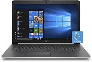 "2020 HP 17.3"" Touchscreen Laptop Computer/ Intel Quad-Core i5-8265U Up to 3.9GHz/ 8GB DDR4 RAM/ 256GB PCIe SSD/ DVD/ Bluetooth 4.2/ AC WiFi/ USB 3.1/ HDMI/ Windows 10 Home/ Silver"