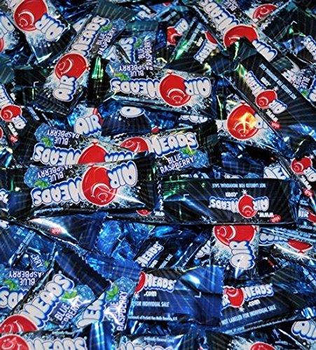 AirHeads Blue Raspberry Taffy Mini Candy Bars 1LB Bag