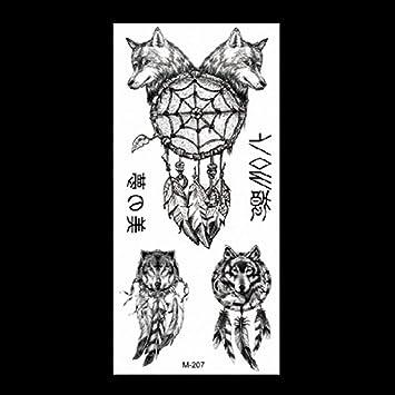 Tatuaje animal apliques brazo simulación pegatina dragón tigre ...