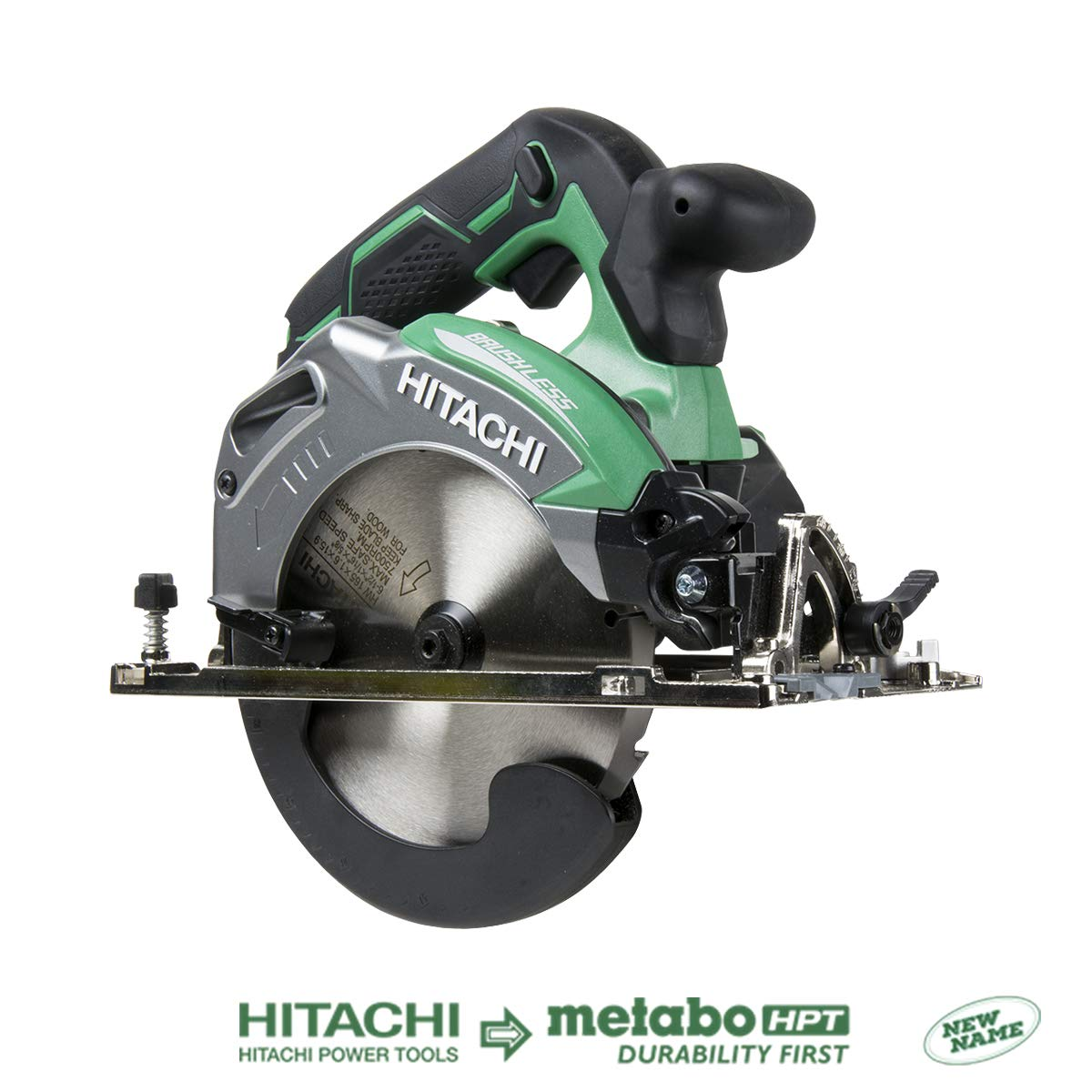 Hitachi C18DBALP4 18V Cordless Brushless Lithium Ion 6-1 2 Deep Cut Circular Saw Tool Only, No Battery