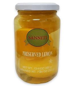 Sanniti Preserved Lemons, 13.4 Ounce