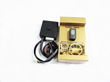 Full Auto Turbo Timer Control Toyota Hilux Vigo MK6 Champ MK7 Series II 05 - 14: Amazon.es: Coche y moto
