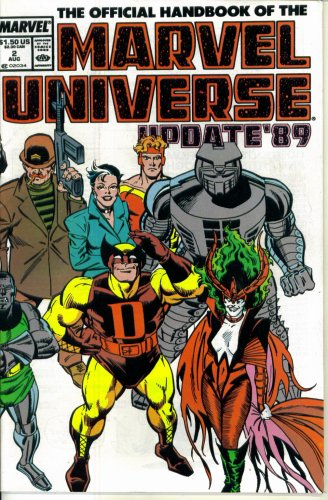 (The Official Handbook of the Marvel Universe Update '89 #2 : From Champion of the Universe to Ecstasy (Marvel Comics))