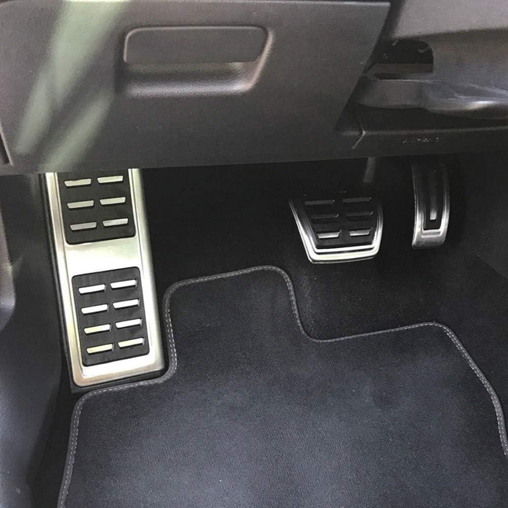 Pedales de Freno de Acelerador AT MT LOIJNAD Pedales de Acero Inoxidable para autom/óviles para Volkswagen VW Tiguan MK2 2017 2018