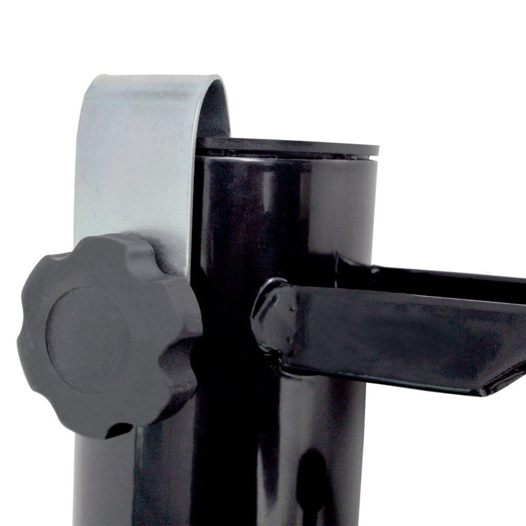 Schirmhalter Stahl Angelrutenhalter Balkonschirmhalter Sonnenschirmhalter NEU