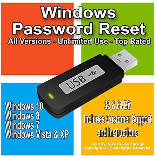 windows password reset tool usb