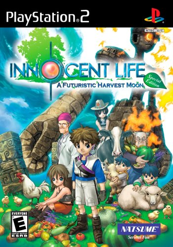Innocent Life: A Futuristic Harvest Moon Special Edition - PlayStation 2 (Moon Ps2 Harvest)