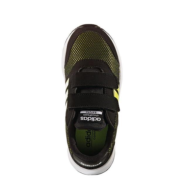 new arrival bcc66 50ee8 adidas Bambino Cloudfoam Saturn Cmf C Scarpe Sportive Nero Size 35  Amazon.it Scarpe e borse