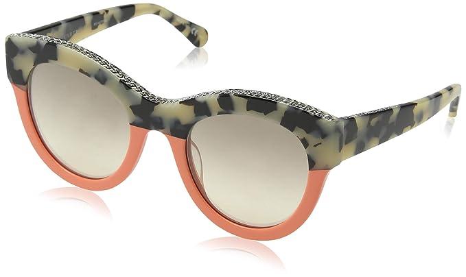 Stella McCartney SC0018S 002 Gafas de Sol, Marrón (002-Avana ...